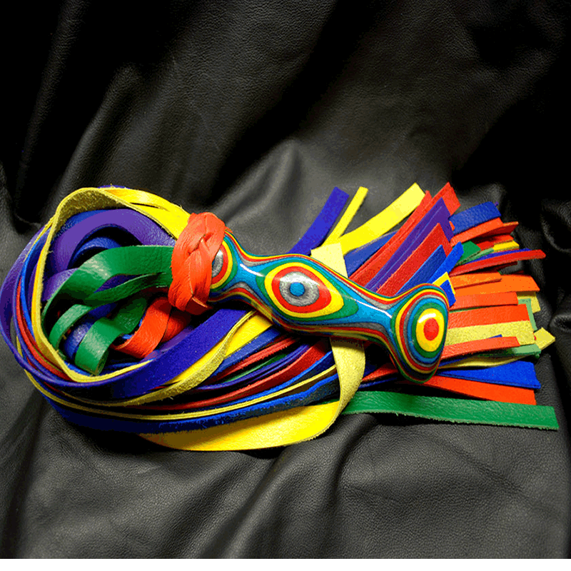 Laminated Wooden Handle Premium Flogger