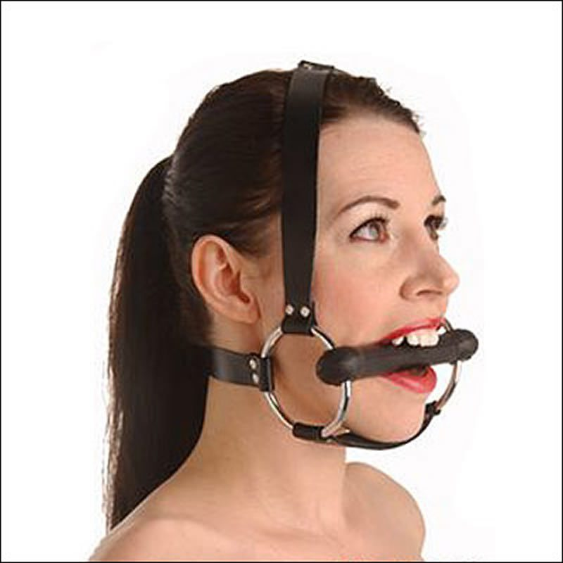 Locking Silicone Trainer Gag